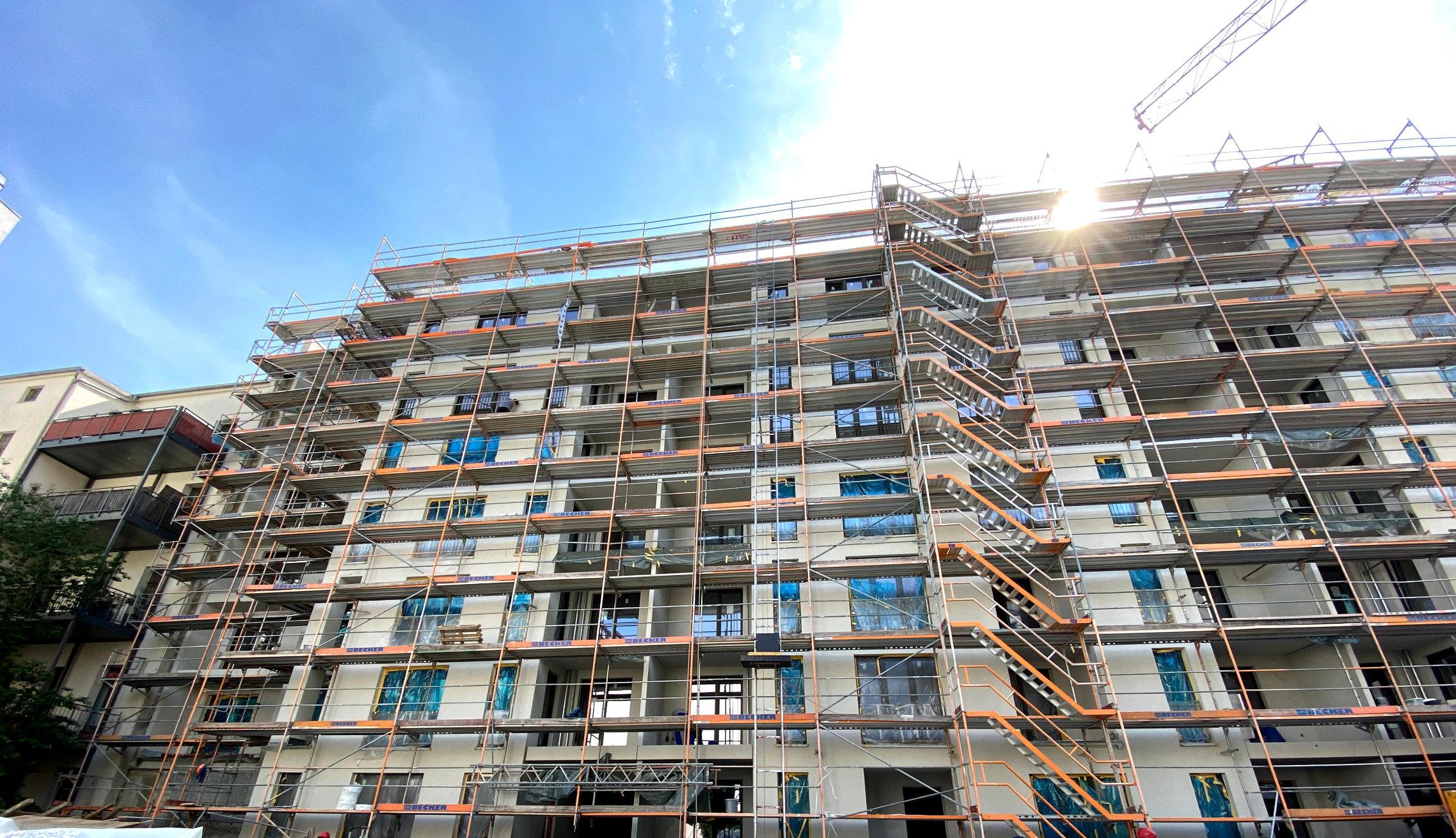 Fassadenarbeiten Firma führt bundesweit Außenputzarbeiten durch