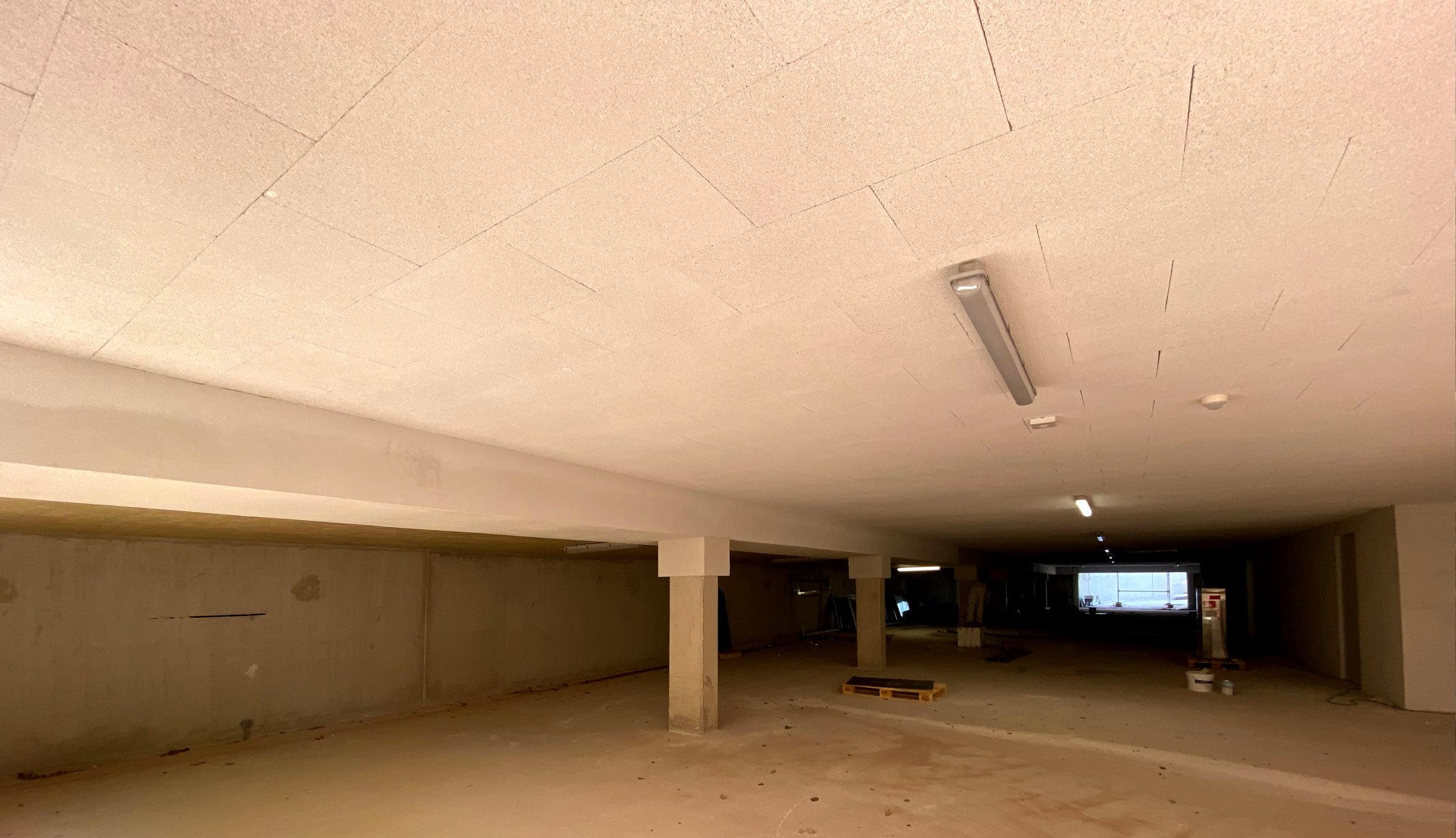 Bundesweite Montage von Tiefgaragendämmung und überbauten Kellerdecken