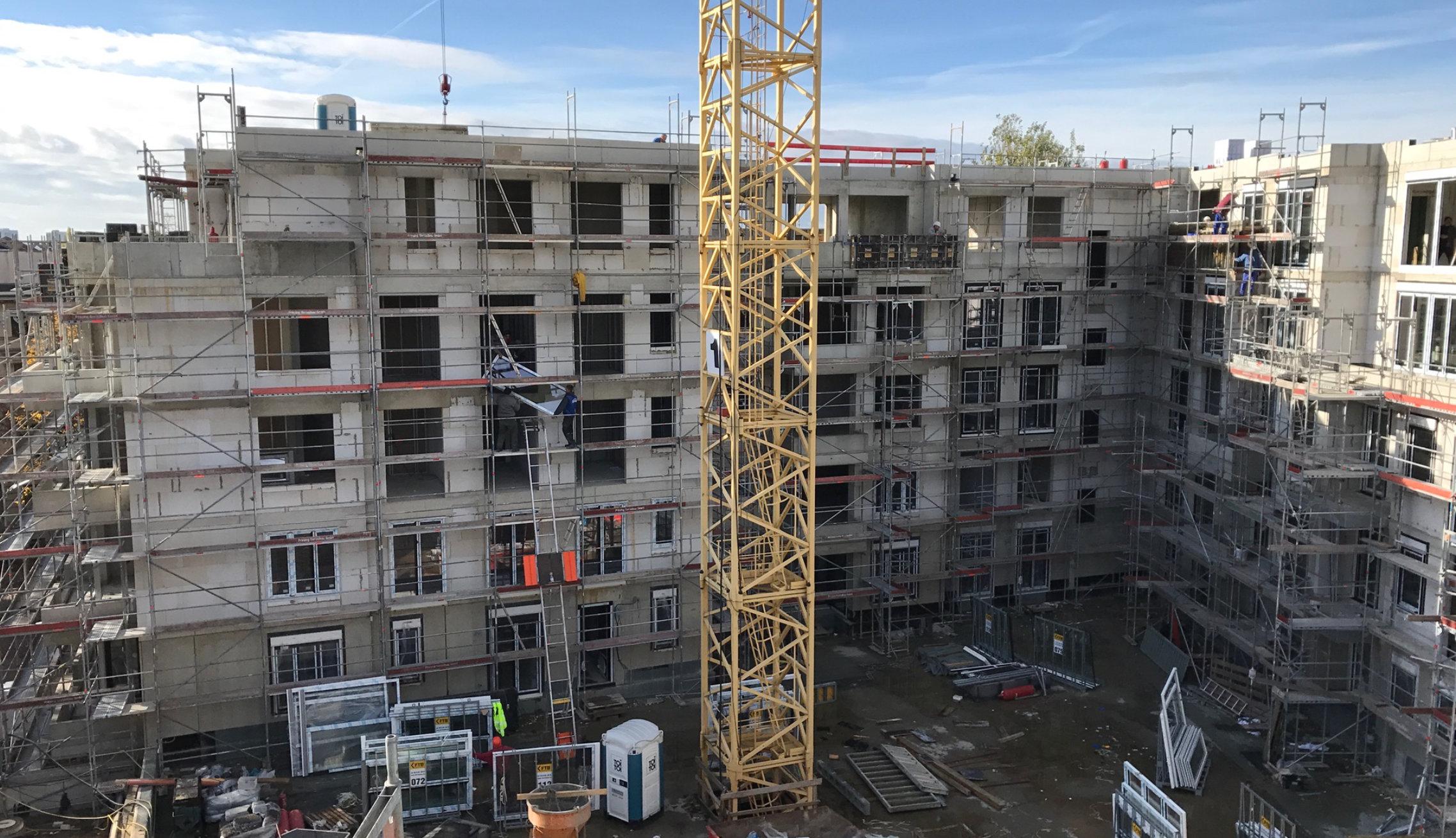 Rohbauarbeiten im Hochbau vom Bauunternehmen Magdeburg